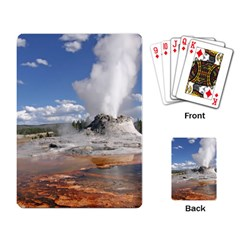 Yellowstone Castle Playing Card by trendistuff