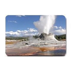 Yellowstone Castle Small Doormat  by trendistuff