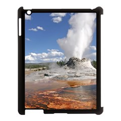Yellowstone Castle Apple Ipad 3/4 Case (black) by trendistuff