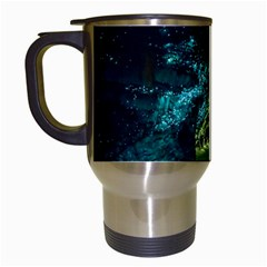Waitomo Glowworm Travel Mugs (white) by trendistuff