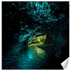 Waitomo Glowworm Canvas 12  X 12   by trendistuff