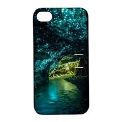 Waitomo Glowworm Apple Iphone 4/4s Hardshell Case With Stand by trendistuff