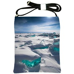 Turquoise Ice Shoulder Sling Bags by trendistuff