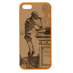 Vintage Skeletons Apple Seamless Iphone 5 Case (color) by waywardmuse