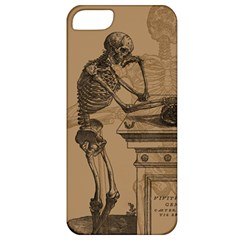 Vintage Skeletons Apple Iphone 5 Classic Hardshell Case by waywardmuse