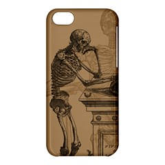 Vintage Skeletons Apple Iphone 5c Hardshell Case by waywardmuse