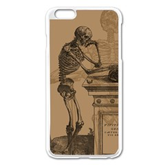 Vintage Skeletons Apple Iphone 6 Plus/6s Plus Enamel White Case by waywardmuse