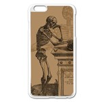 Vintage Skeletons Apple iPhone 6 Plus/6S Plus Enamel White Case