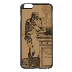 Vintage Skeletons Apple Iphone 6 Plus/6s Plus Black Enamel Case by waywardmuse