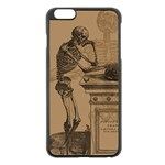 Vintage Skeletons Apple iPhone 6 Plus/6S Plus Black Enamel Case