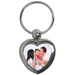 KeyChain_Heart_SzeWholeFamily - Key Chain (Heart)