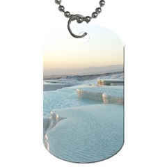 Travertine Pools Dog Tag (two Sides) by trendistuff