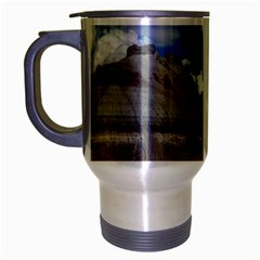 PETRIFIED FORREST TEPEES Travel Mug (Silver Gray) by trendistuff
