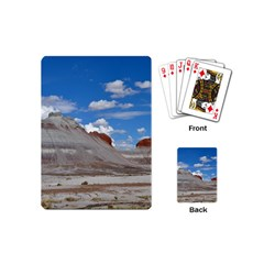 PETRIFIED FORREST TEPEES Playing Cards (Mini)  by trendistuff