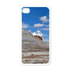 Petrified Forrest Tepees Apple Iphone 4 Case (white) by trendistuff