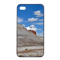 Petrified Forrest Tepees Apple Iphone 4/4s Seamless Case (black) by trendistuff