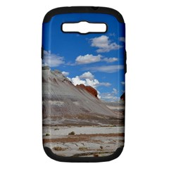 Petrified Forrest Tepees Samsung Galaxy S Iii Hardshell Case (pc+silicone) by trendistuff