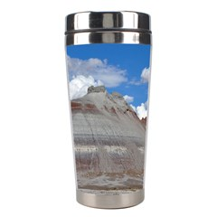 Petrified Forrest Tepees Stainless Steel Travel Tumblers by trendistuff