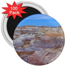 Painted Desert 3  Magnets (100 Pack) by trendistuff