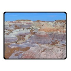PAINTED DESERT Double Sided Fleece Blanket (Small)  by trendistuff