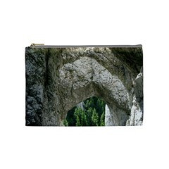 Limestone Formations Cosmetic Bag (medium)  by trendistuff