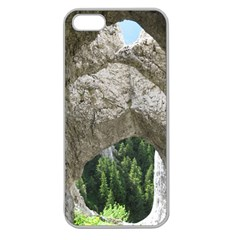 Limestone Formations Apple Seamless Iphone 5 Case (clear) by trendistuff
