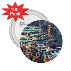 Huanglong Pools 2 25  Buttons (100 Pack)  by trendistuff