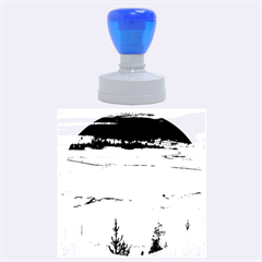 Grand Prismatic Rubber Round Stamps (large) by trendistuff