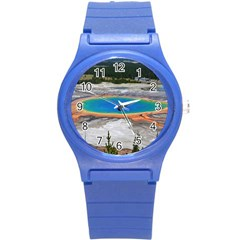 Grand Prismatic Round Plastic Sport Watch (s) by trendistuff