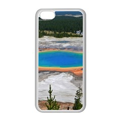 Grand Prismatic Apple Iphone 5c Seamless Case (white) by trendistuff