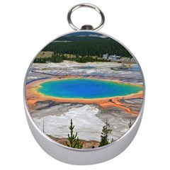 Grand Prismatic Silver Compasses by trendistuff
