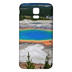 Grand Prismatic Samsung Galaxy S5 Back Case (white) by trendistuff