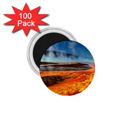 Fire River 1 75  Magnets (100 Pack)  by trendistuff