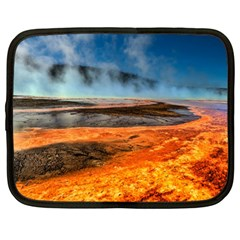 Fire River Netbook Case (large) by trendistuff
