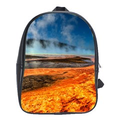 Fire River School Bags(large)  by trendistuff