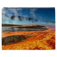 Fire River Cosmetic Bag (xxxl)  by trendistuff