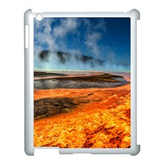 Fire River Apple Ipad 3/4 Case (white) by trendistuff