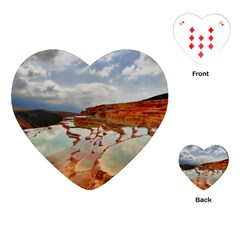 Badab E Surt Playing Cards (heart)  by trendistuff