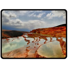 Badab E Surt Fleece Blanket (large)  by trendistuff