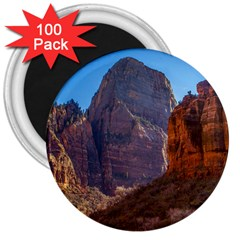Zion National Park 3  Magnets (100 Pack) by trendistuff