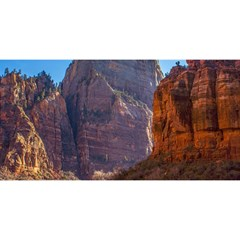 ZION NATIONAL PARK YOU ARE INVITED 3D Greeting Card (8x4)