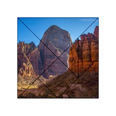 Zion National Park Acrylic Tangram Puzzle (4  X 4 ) by trendistuff