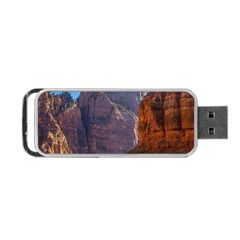 Zion National Park Portable Usb Flash (one Side) by trendistuff