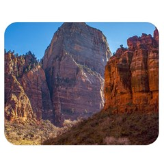 Zion National Park Double Sided Flano Blanket (medium)  by trendistuff