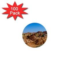 Zhangye Danxia 1  Mini Buttons (100 Pack)  by trendistuff