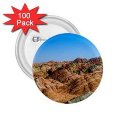 Zhangye Danxia 2 25  Buttons (100 Pack)  by trendistuff