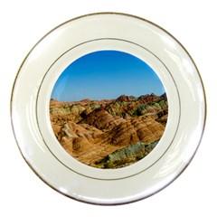 Zhangye Danxia Porcelain Plates by trendistuff