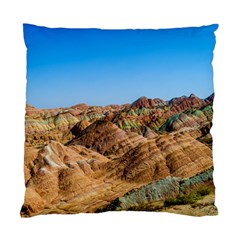Zhangye Danxia Standard Cushion Cases (two Sides)  by trendistuff