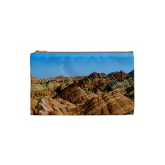 Zhangye Danxia Cosmetic Bag (small)  by trendistuff