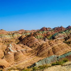 Zhangye Danxia Magic Photo Cubes by trendistuff
